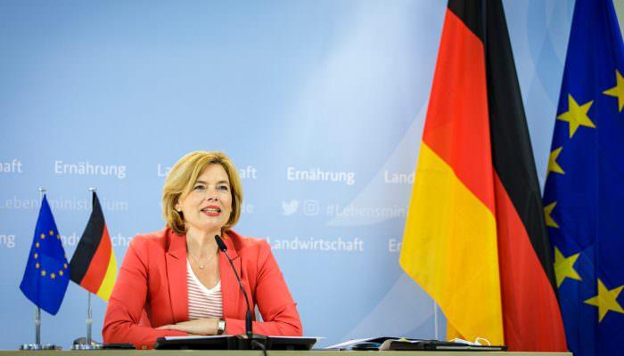 Minister of Agriculture, Julia Klöckner